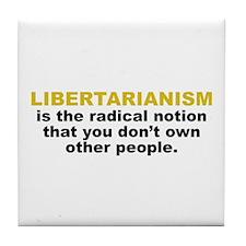 Libertarian Tile Coaster