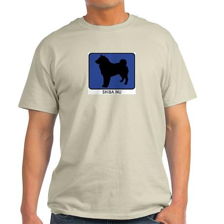 Shiba Inu (blue) Light T-Shirt