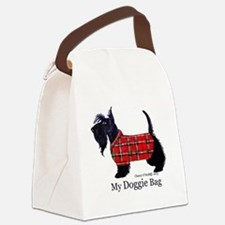 scottie doggie Canvas Lunch Bag