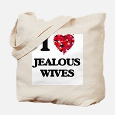 I Love Jealous Wives Tote Bag
