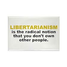 Libertarian Rectangle Magnet