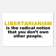 Libertarian Postcards (Package of 8)