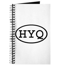 HYQ Oval Journal