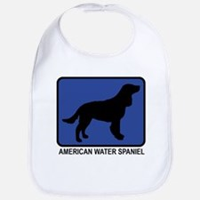 American Water Spaniel (blue) Bib