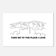 rhcp LA place i love Postcards (Package of 8)