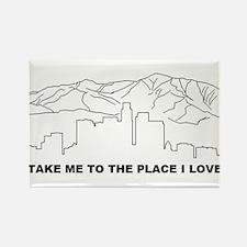 rhcp LA place i love Magnets