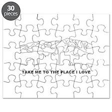 rhcp LA place i love Puzzle
