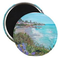 Cute Laguna beach Magnet