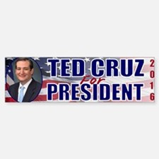 Ted Cruz for President Sticker (Bumper)