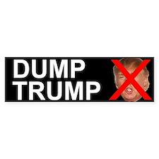 Dump Trump Bumper Bumper Sticker
