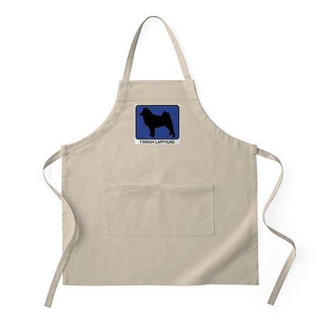 Finnish Lapphund (blue) BBQ Apron