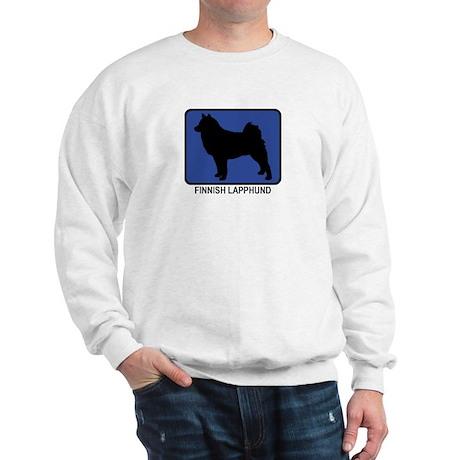 Finnish Lapphund (blue) Sweatshirt