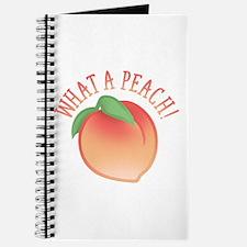 What A Peach Journal