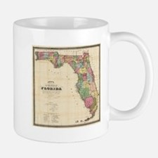 Vintage Map of Florida (1870) Mugs