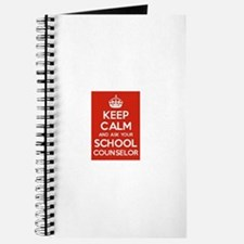 Keep Calm and Ask Your School Counselor Journal
