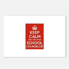 Keep Calm and Ask Your School Counselor Postcards