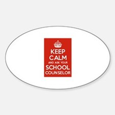 Keep Calm and Ask Your School Counselor Decal