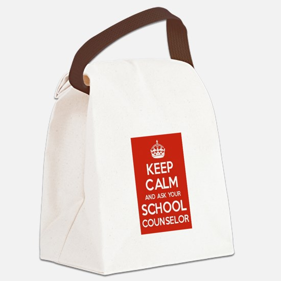 Keep Calm and Ask Your School Counselor Canvas Lun
