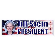 Cute Jill stein 2016 Bumper Sticker