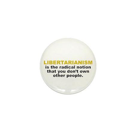Libertarian Mini Button