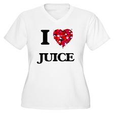 I Love Juice Plus Size T-Shirt
