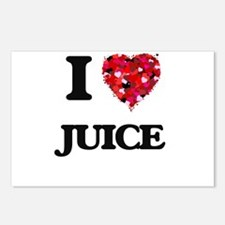 I Love Juice Postcards (Package of 8)