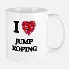 I Love Jump Roping Mugs