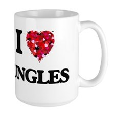 I Love Jungles Mugs