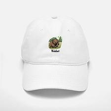 Wombat Baseball Baseball Cap
