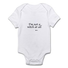 I,m not a witch at all Infant Bodysuit