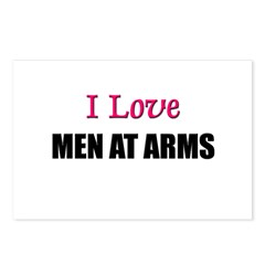 I Love MEN AT ARMS Postcards (Package of 8)