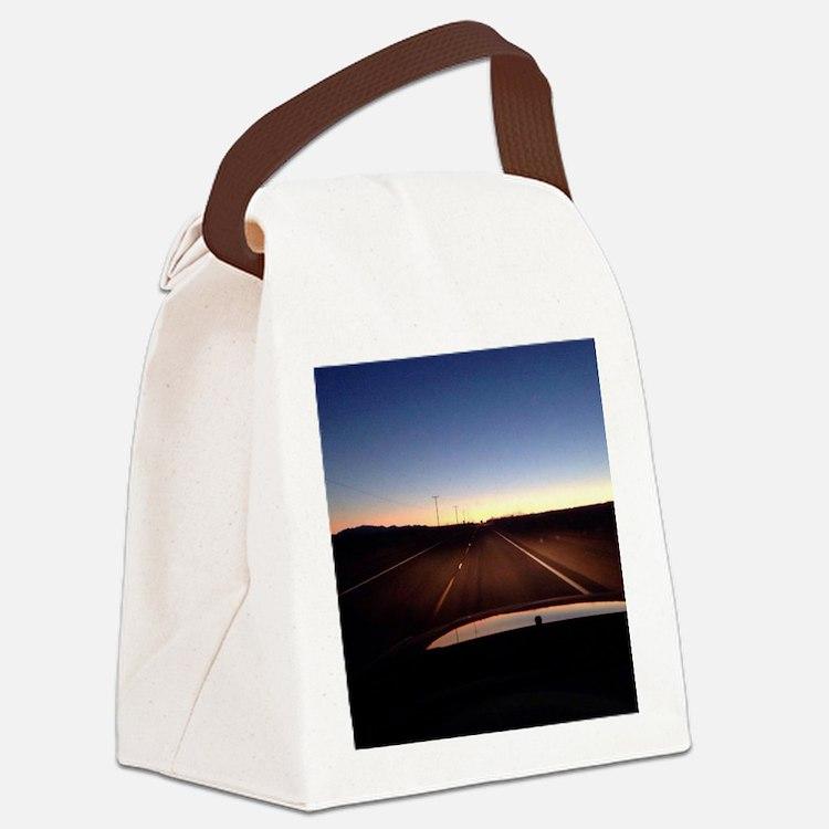 Cute Palms Canvas Lunch Bag