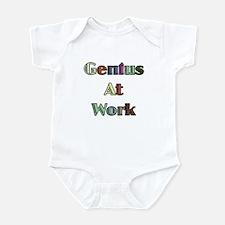 Genius At Work Infant Bodysuit