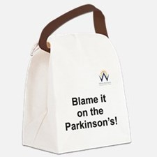 Blame it on the Parkinson's Canvas Lunch Bag