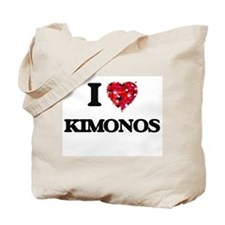 I Love Kimonos Tote Bag