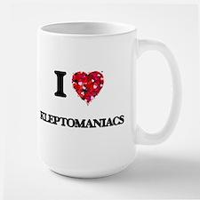 I Love Kleptomaniacs Mugs