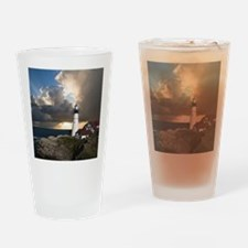 Lighthouse Lookout Drinking Glass
