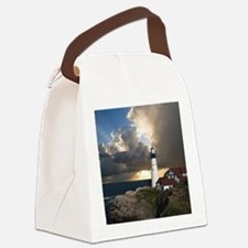 Lighthouse Lookout Canvas Lunch Bag