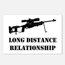 long distance Postcards (Package of 8)