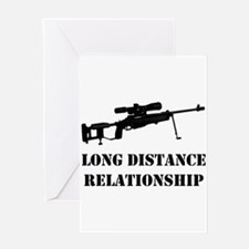 long distance Greeting Cards