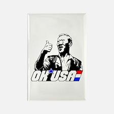 OK USA Rectangle Magnet