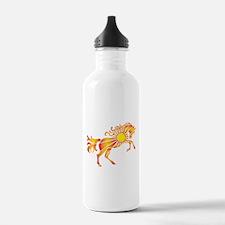 Sun Horse Art Water Bottle