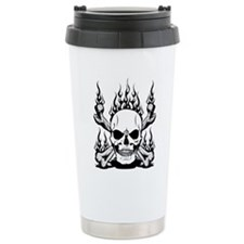 Unique Skull and crossbones Travel Mug