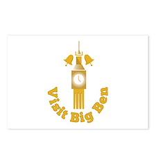 Visit Big Ben Postcards (Package of 8)