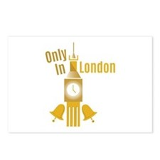 Only In London Postcards (Package of 8)