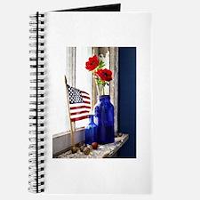 Patriotic Flowers Journal