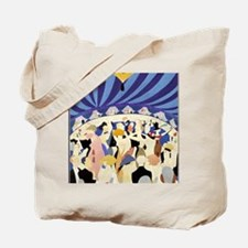 Dancing couples vintage poster 1921 Tote Bag