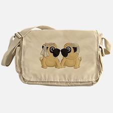 Pug Brides Messenger Bag