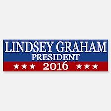 Lindsey Graham President 2016 Bumper Bumper Bumper Sticker