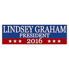 Lindsey Graham President 2016 Bumper Bumper Sticker